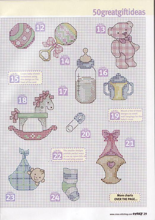 motivos bebe | Patrones De Ganchillo | Pinterest