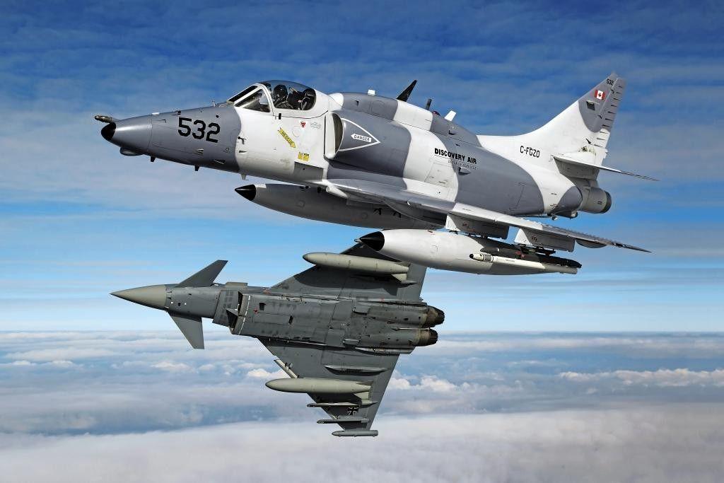 Skyhawk & Typhoon | Military Hardware | Fighter jets