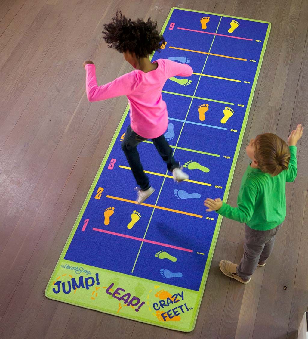 Jump And Leap Activity Mat For Kids