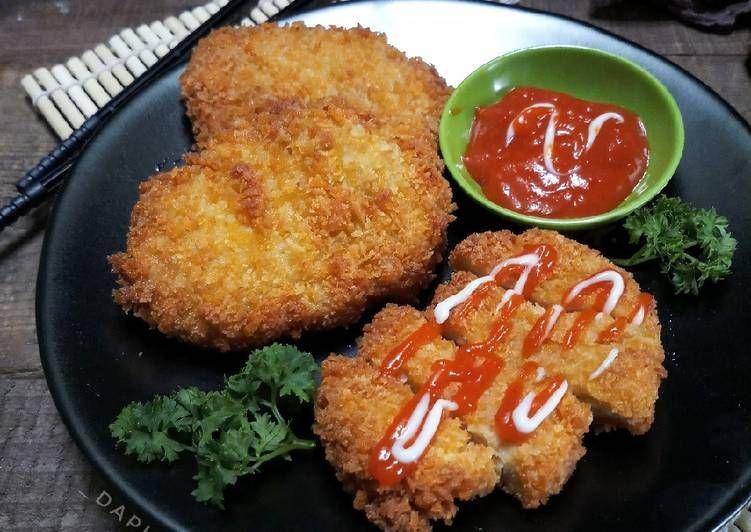 Resep Tahu Katsu Simple Oleh Dapurvy Resep Resep Resep Tahu Resep Masakan