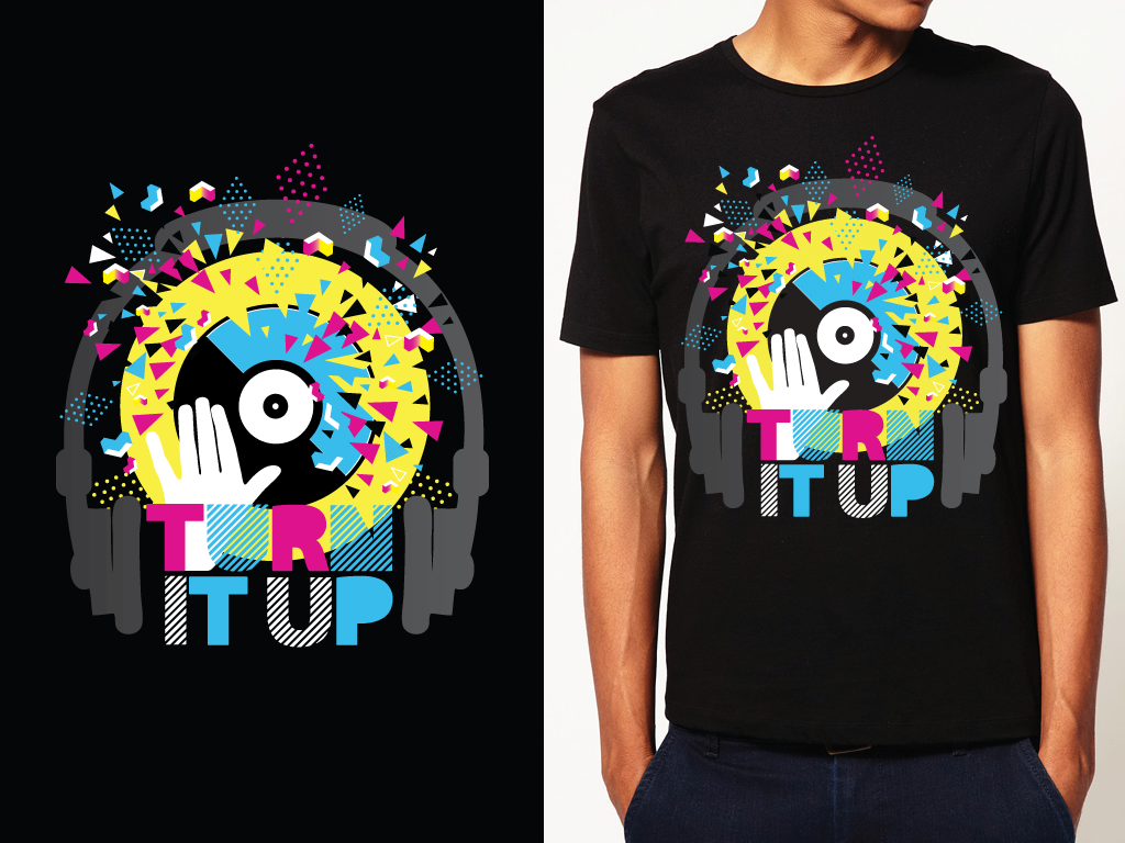 Diy t shirt customis 233 more - Image For Dance Euphoria Need A Music Related T Shirt Design Best T Shirt
