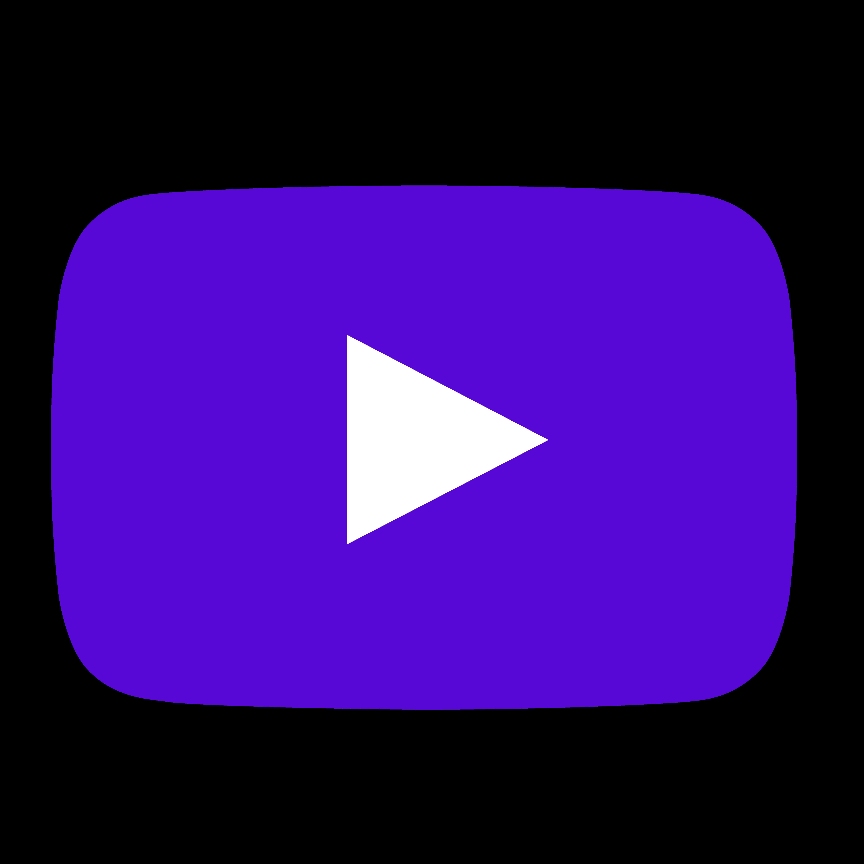 Png Purple Youtube Logo In 2020 Youtube Logo Purple Logo Purple Aesthetic