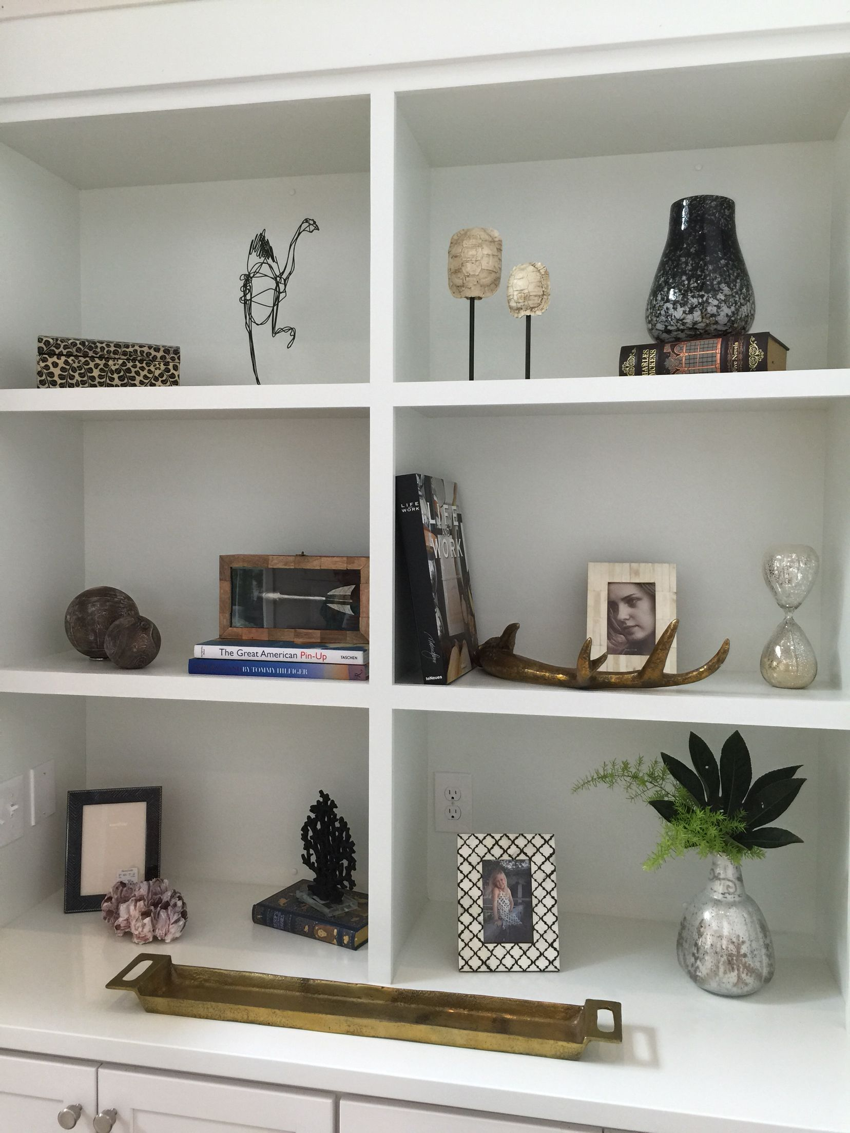 Style A Bookcase With Odd Numbers Or Groups Of HomeGoods Has Great Accessories
