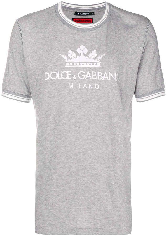 4e5443ea Dolce & Gabbana logo printed T-shirt | Products | Dolce gabbana logo ...