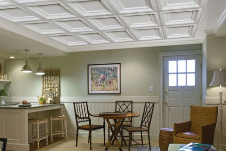 How To Install Decorative Ceiling Tiles Here Are Diy Instructions On How To Install An Armstrong Suspended