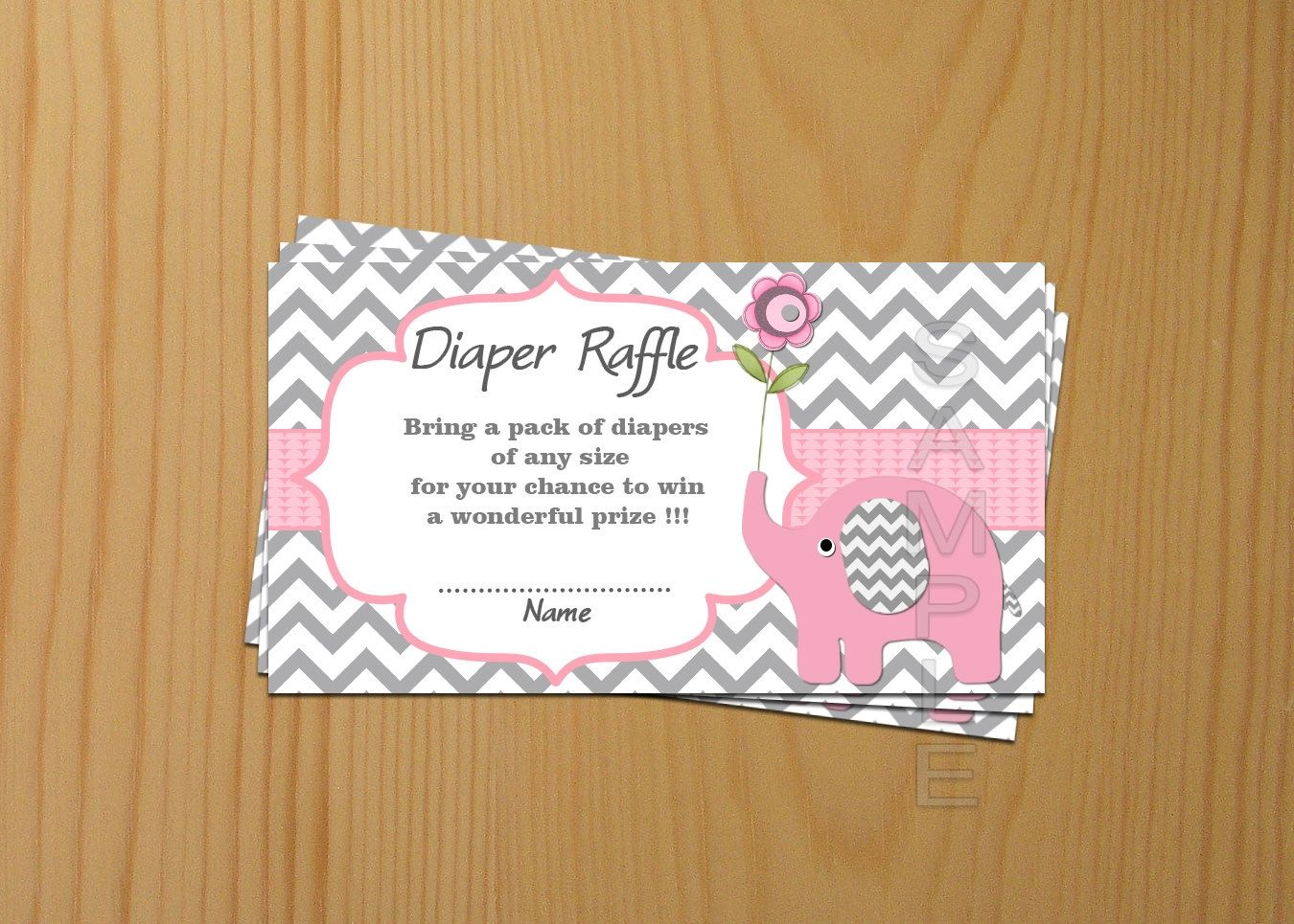 baby shower invitation for twins%0A Wording For Baby Shower Invitations Diaper Raffle