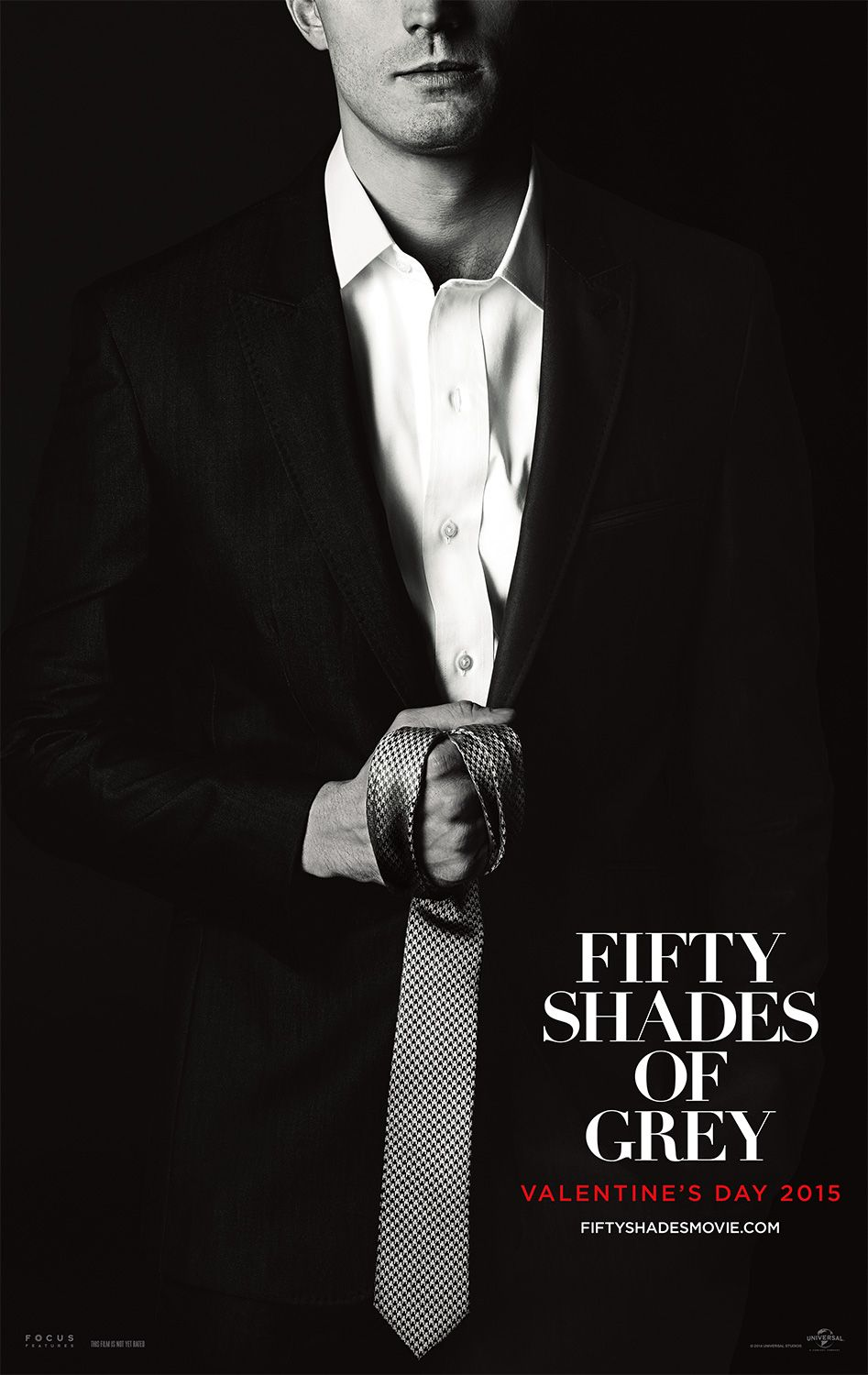 Tie Optional Fifty Shades Of Grey In Theaters Valentine S Day
