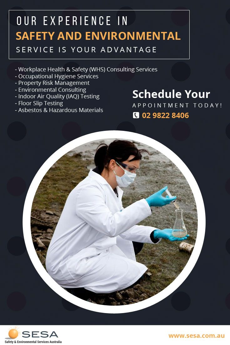 Workplace Health & Safety (WHS) Consulting Services