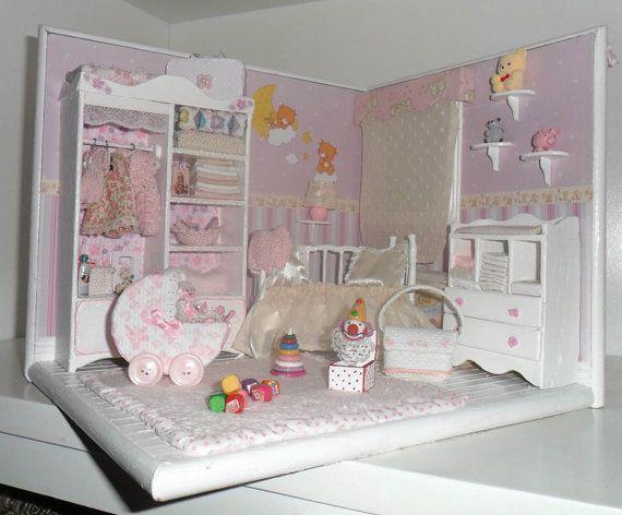 1:12th Dolls House 2 x BabiesDolls for dressing