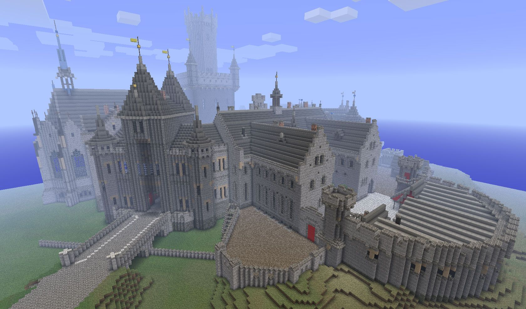 minecraft castle | minecraft medieval castle download | minecraft