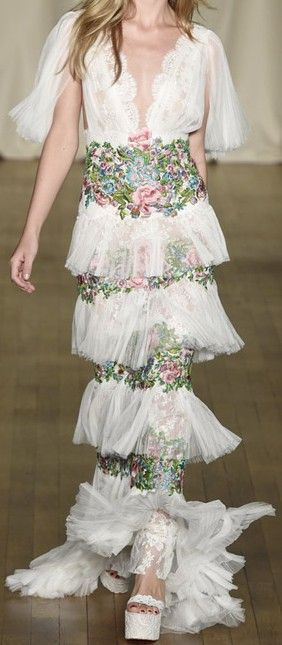 Marchesa Spring/Summer 2015