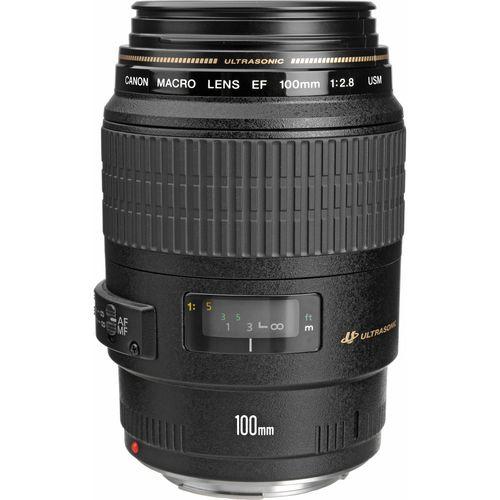 Canon 100mm f/2.8 USM Macro Autofocus Lens