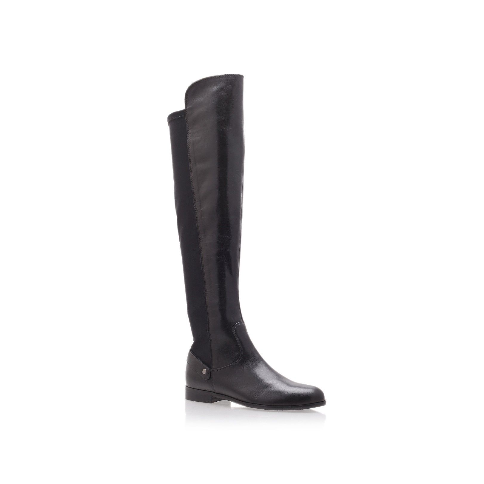 Discount Carvela Comfort Brown Vivian Knee-High Leather Boots for Women Sale