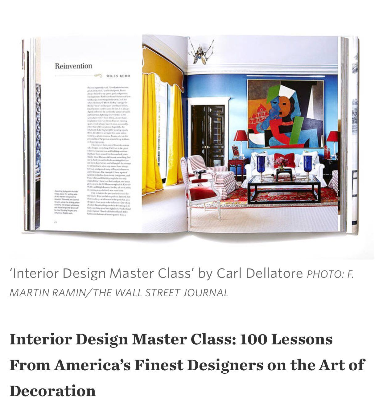 The List Of 5 Design Books Worth Gifting This Season: Interior Design  Master Class By