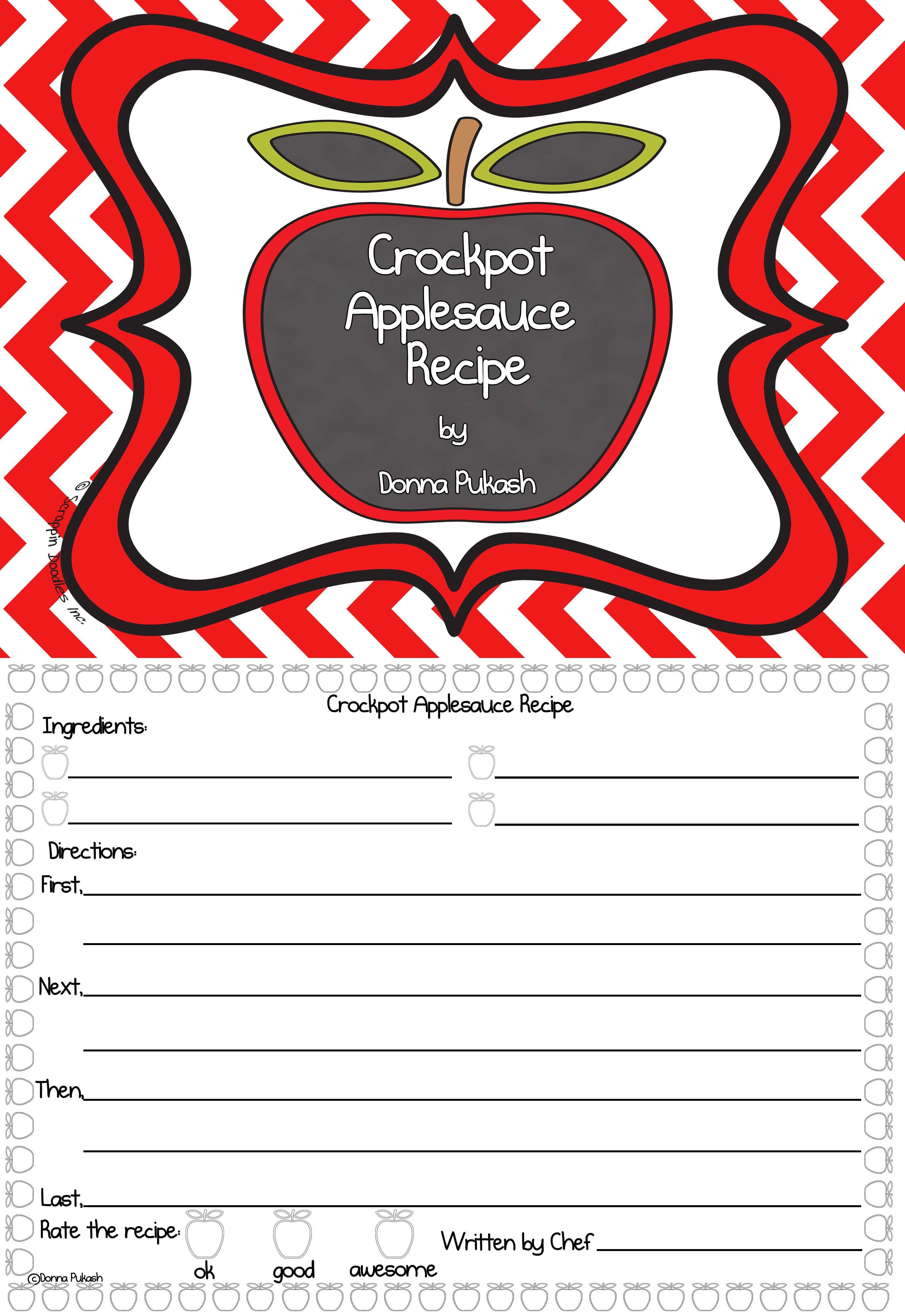 Crockpot Applesauce Sequence Of Events