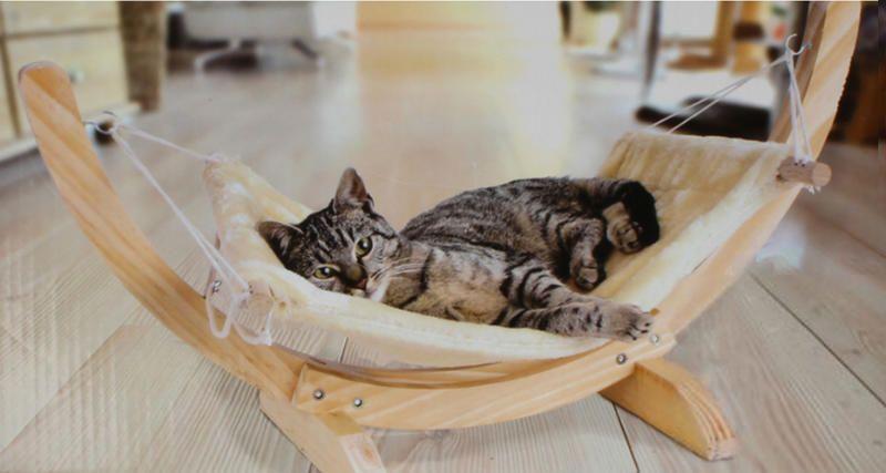 Hamaca gato gatos perros camas de gato y perro gato - Accesorios para hamacas ...