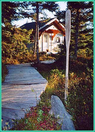 Cabin Rentals In Halibut Cove Near Homer Alaska