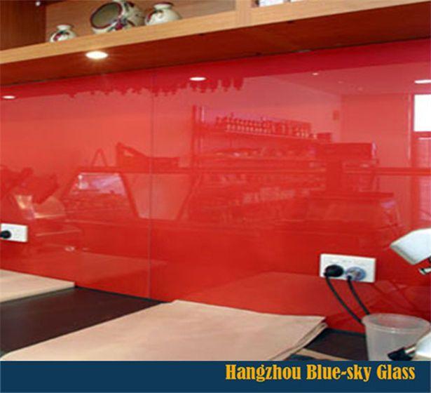 paredes revestidas con vidrio pintado - Google Search   cocinas con ...