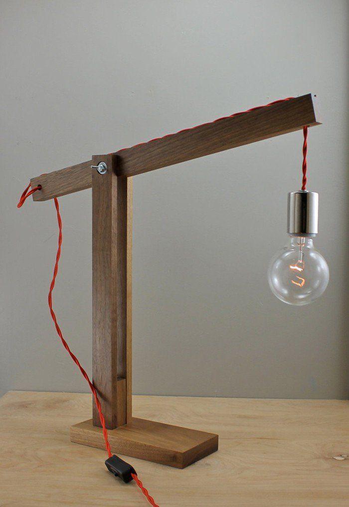 holzlampe ausnahme und besonderheit im lampen design holzlampe schreibtischlampe und design. Black Bedroom Furniture Sets. Home Design Ideas