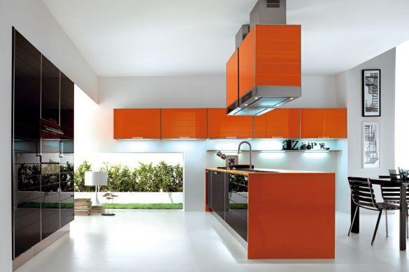Resultado de imagen para cocinas integrales modernas para for Disenos de cocinas integrales para espacios pequenos