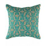 Rizzy Home - Brown and Teal Decorative Accent Pillows (Set of 2) - T04178