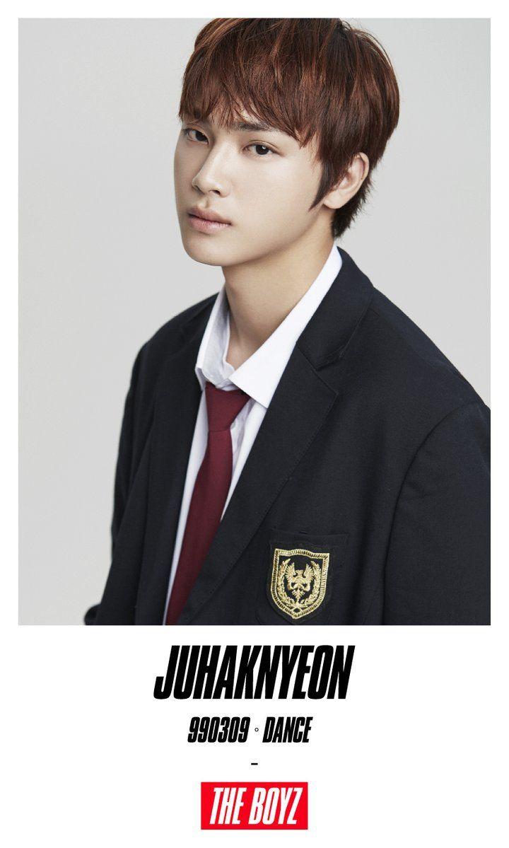 Hairstyle for teenager boy 더보이즈 the boyz  ju haknyeon creker entertainment  the boyz