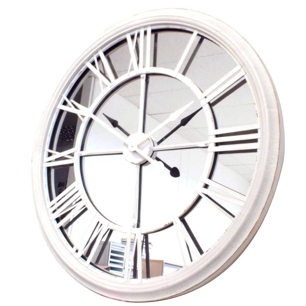 Mirror Wall Clock Large | http://drrw.us | Pinterest | Mirror wall ...