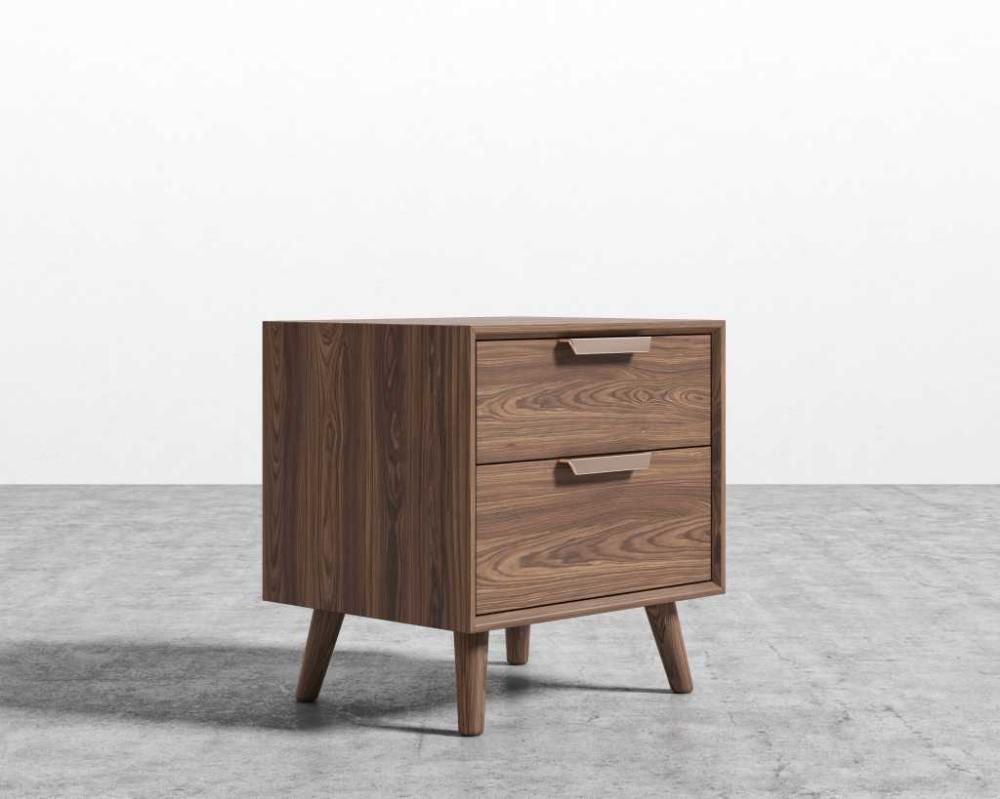 Asher Nightstand Nightstand, Mid century furniture