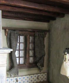 De uitdaging van poppenhuizen: Verder met de cottage.
