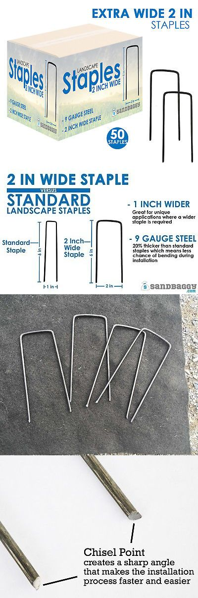Anchor Pins Staples And Stakes 181028 Extra Wide Landscape