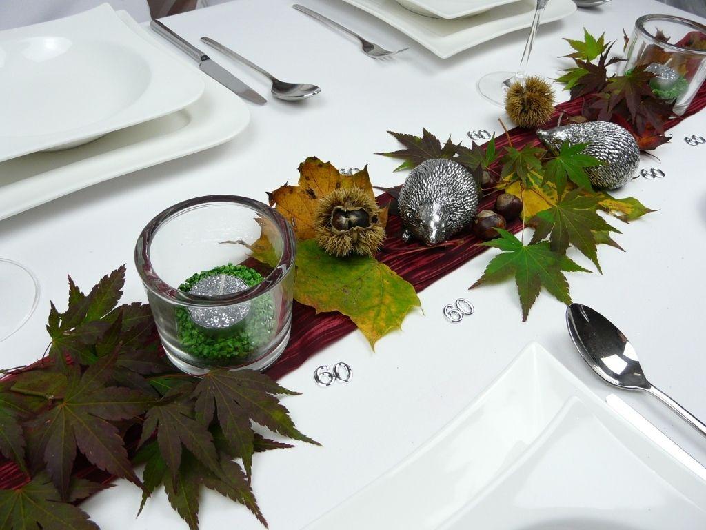 Tischdeko Herbst Geburtstag Einfache Tischdeko Geburtstag Neu