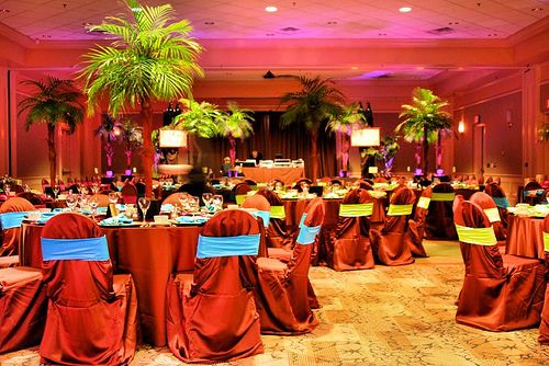 Caribbean Theme Party Ideas On Pinterest: Tropical Themed Bat Mitzvah In 2019