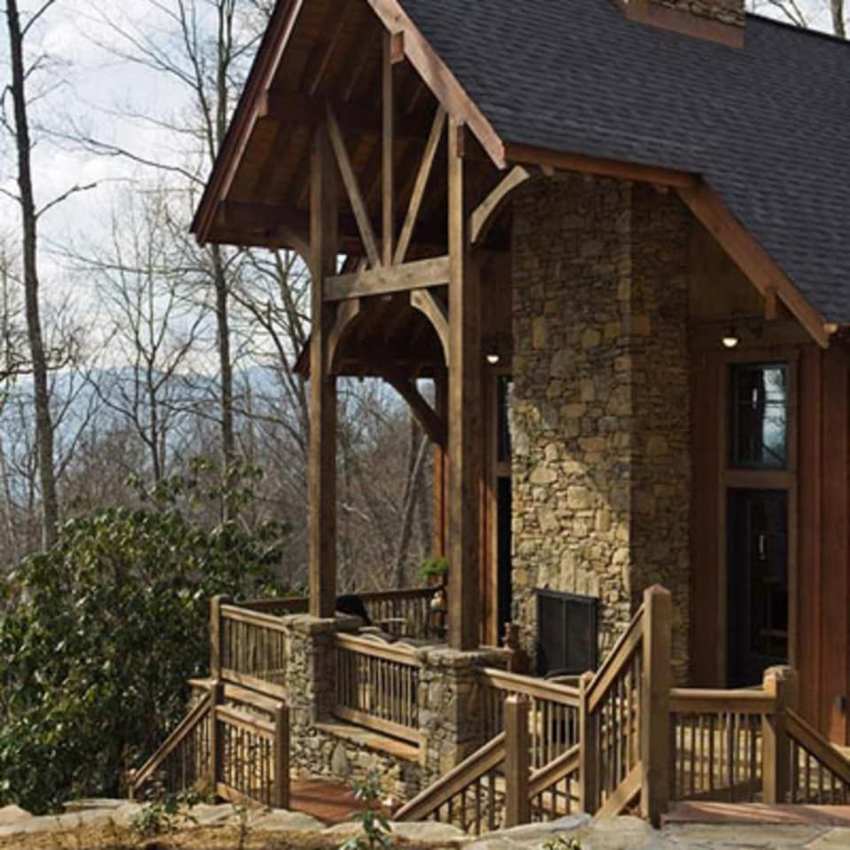 Cabin Style Homes, Craftsman