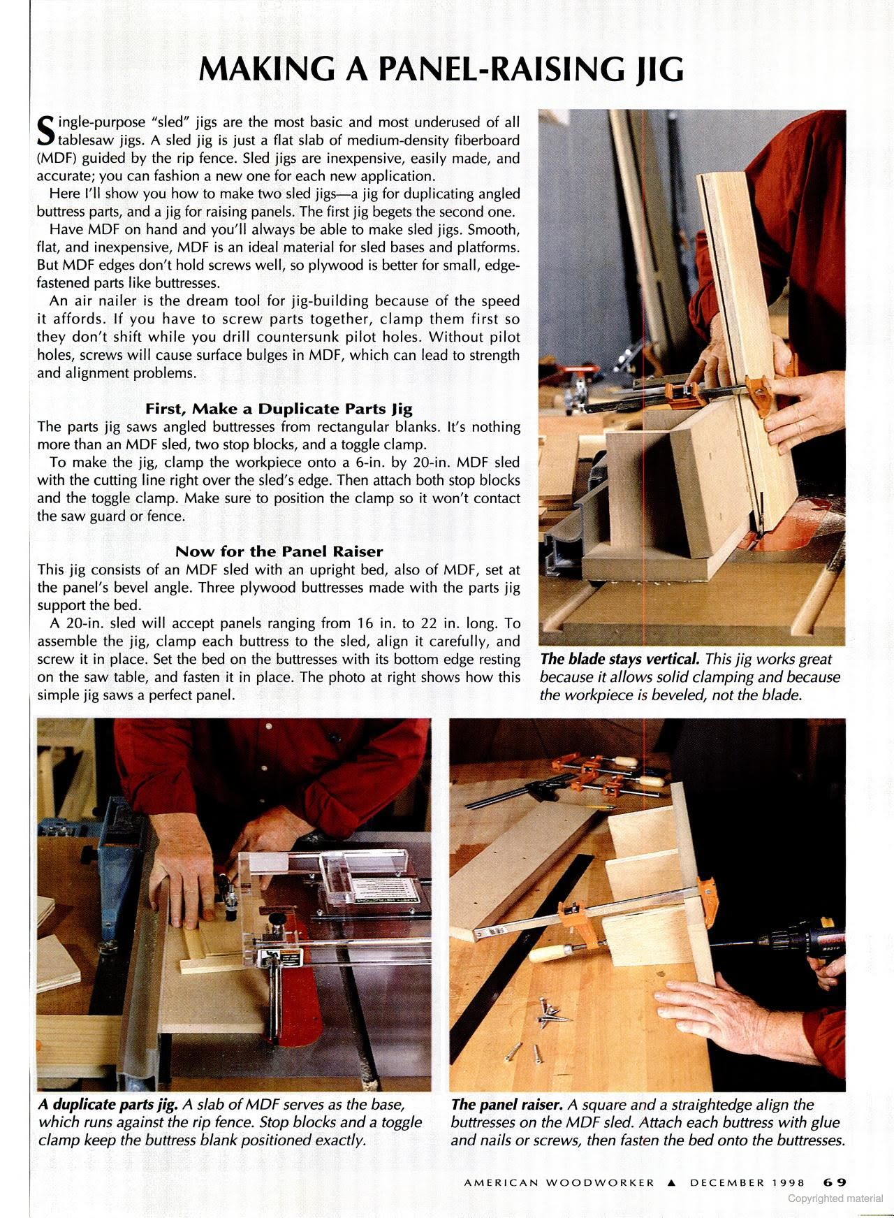 American Woodworker Google Books Woodworking Table