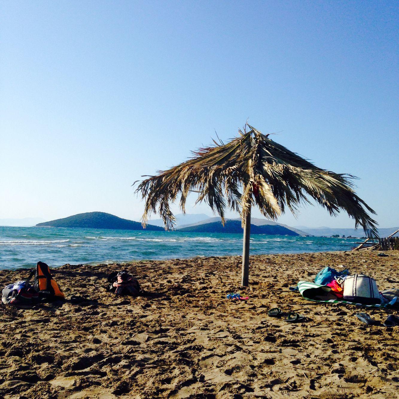 Beach near Κατοχή. Photo by Megan Lethbridge. Patio