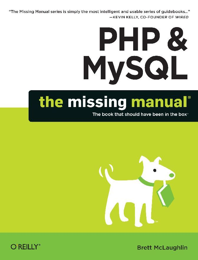 Php Mysql The Missing Manual Filemaker Pro Book Sites Ebook