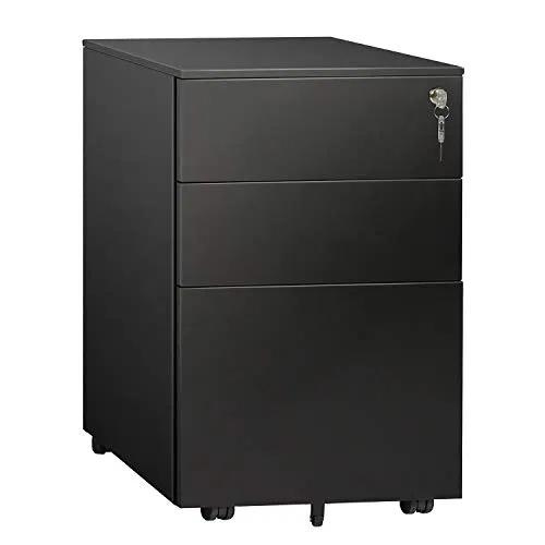 DEVAISE 3 Drawer Locking File Cabinet Best Offer ...
