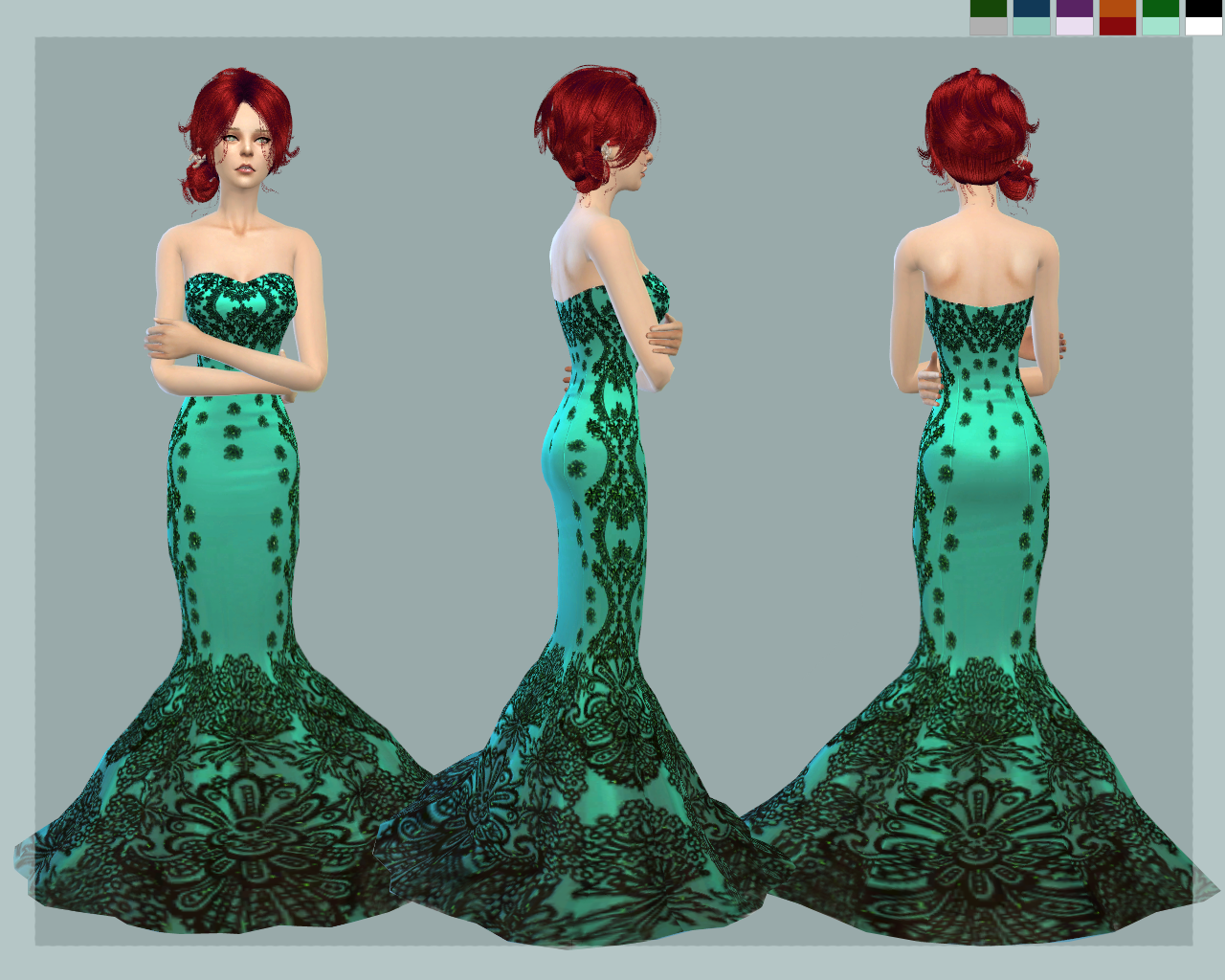 the sims 4 mermaid mod