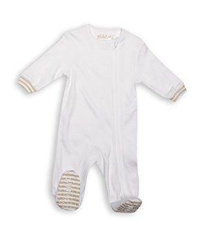 Juddlies Sleepers White Newborn