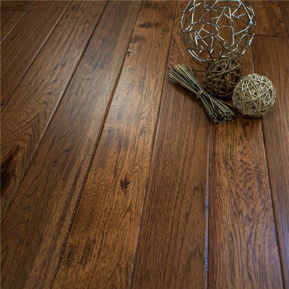 Discount 5 X 3 4 Hickory Character Prefinished Solid Jackson Hole Hardwood Flooring By Hurst Hardwoods Hickory Flooring Prefinished Hardwood Hardwood Floors