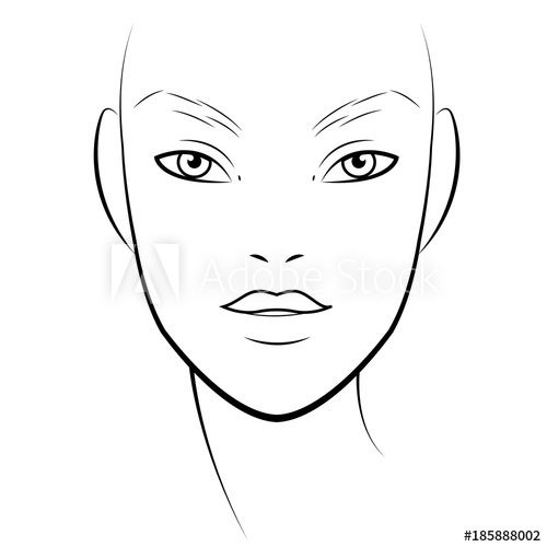 Pin on face charts