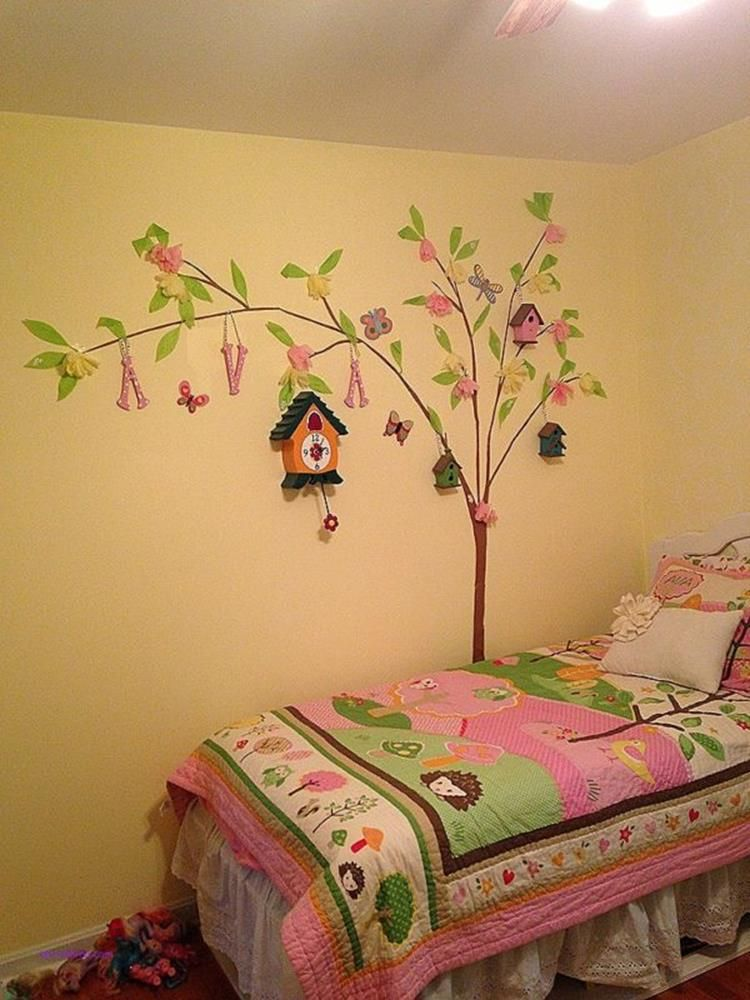 53 Cute Girls Bedroom Design Wall Art Ideas | Bedrooms and Walls