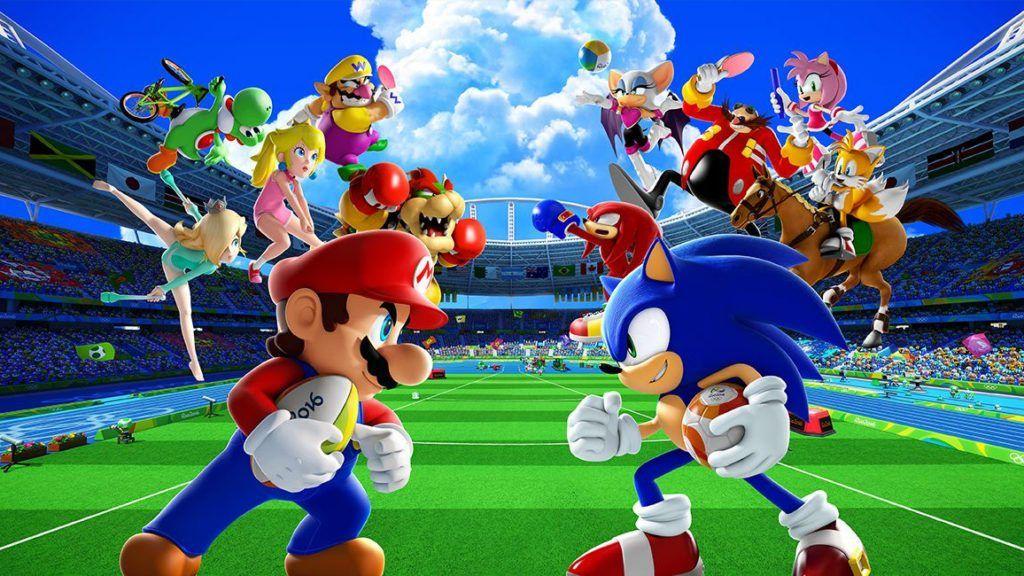 Sonic Vs Mario Tournament Sonic Mario Olympic Games