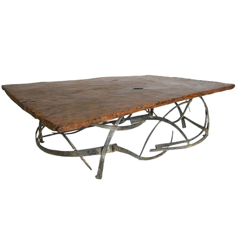 Check out the deal on Wood and Iron Coffee table at Eco First Art