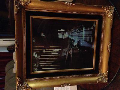 Haunted Mansion Organ Player Organist Framed Photo | eBay