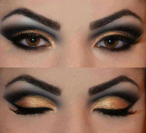 Preto e dourado / Black and Golden