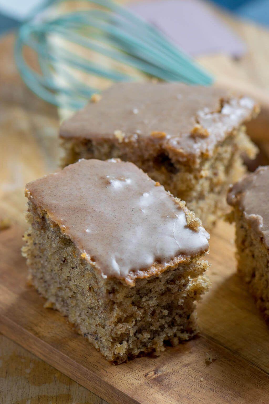 Saftigster Nusskuchen mit Zimtguss   Rezept   German Cakes ...