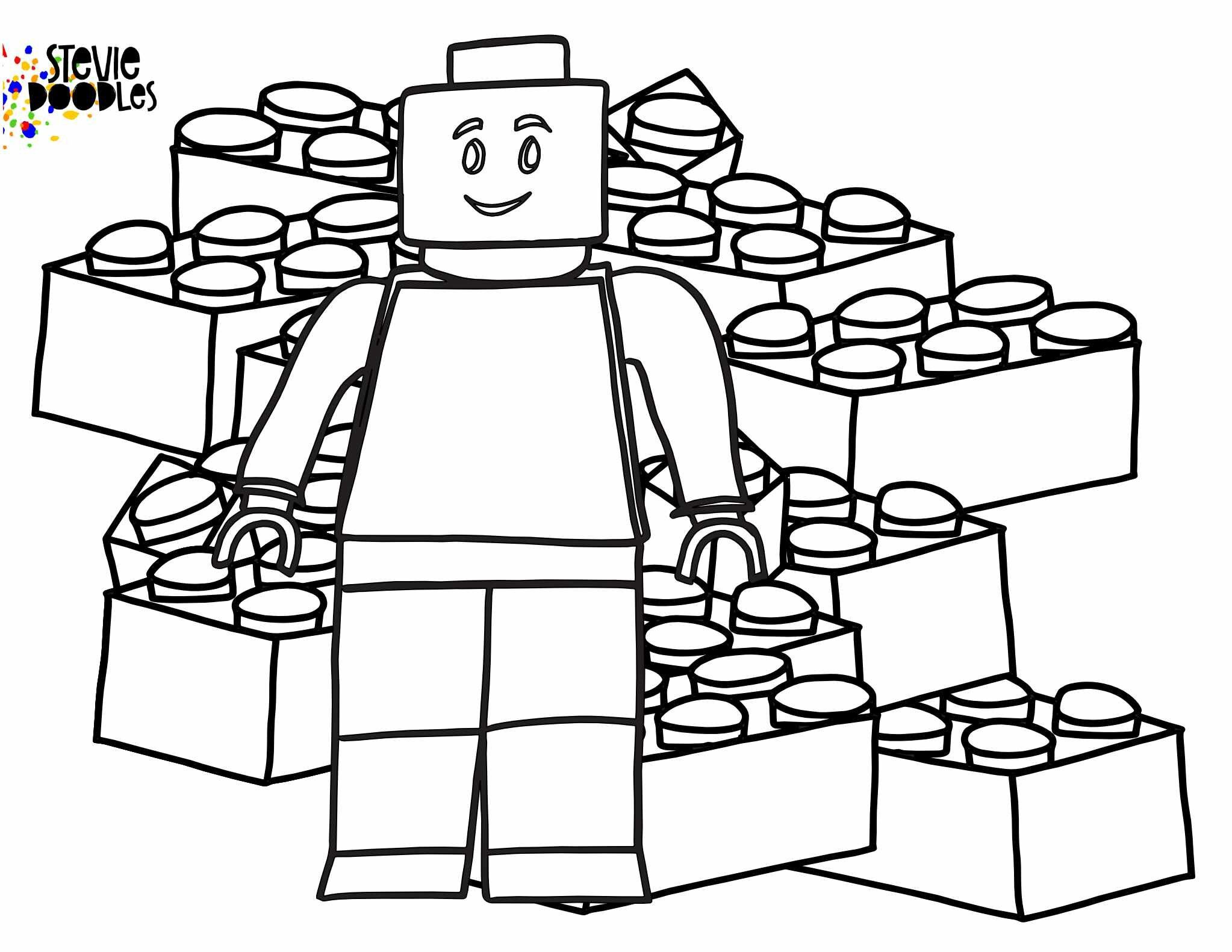 Free Lego Coloring Pages Stevie Doodles Lego Coloring Pages Lego Coloring Lego Coloring Sheet
