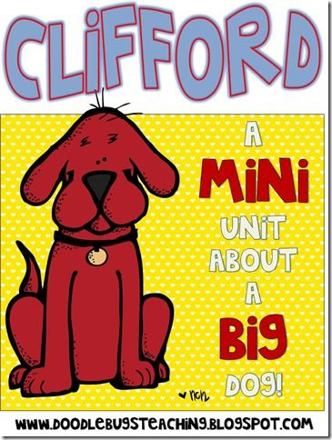 Clifford color week | Clifford | Pinterest