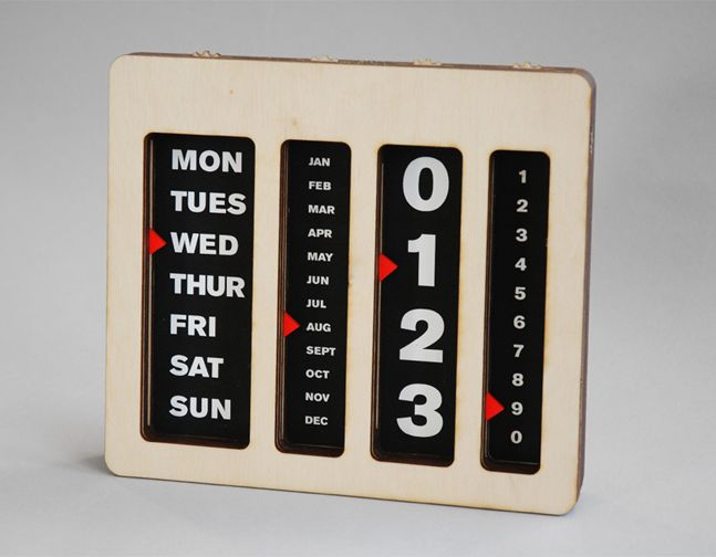 1000+ images about Perpetual calendars on Pinterest | Mouse traps ...